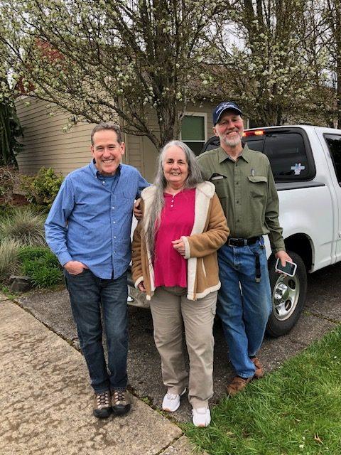 2019 Mission Team: Scott Eberhart, Linda McLucas, Joe Fox